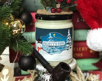 Frosty's Pipe | Frosty the Snowman Inpspired Candle
