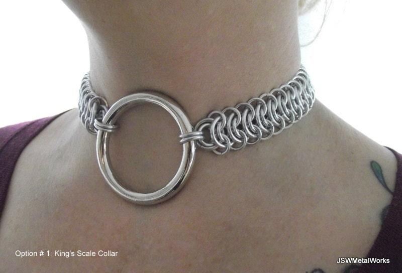 Customized bondage collars