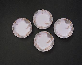 Vintage Limoges Tidbit Plates
