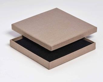 Boîte de carton postal bijoux/Universal 15 x 15 x 2 - Pack de 20