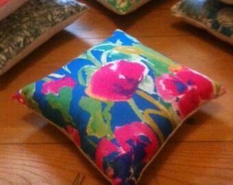 Pin cushion, handmade with Liberty fabrics, Hampton Wedding