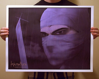 Kamakura Ninja Assassin Poster