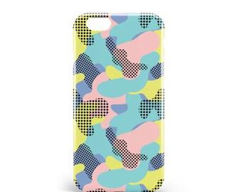 Hull Camouflage. PVC. iPhone 4, 4s, 5, 5s, SE, 5 c, 6, 6, 6 Plus 6s Plus, 7 and 7 more, illustration, design, camo, pop, artmars, art