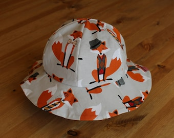 Children's Sun Hat, Fox- Full Purchase Price DONATED TO CHARITY!