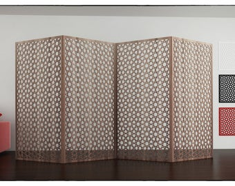 ABU DHABI Screen Panel  Islamic geometry arabesques patterns plasma Arabic template room divider  woodworking plans wall panel plasma cut