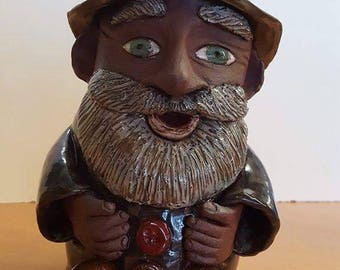 Large Stoneware Gnome