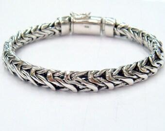 caterpillar bracelet 925 sterling silver