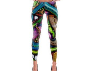 War Against Nothing - Limited Edition Art Leggings