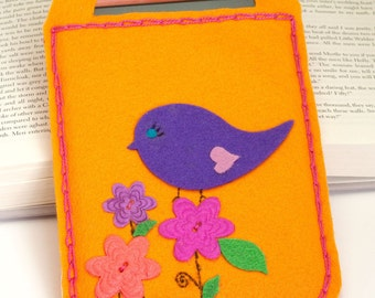 E reader cover, carrier - Tweet Tweet