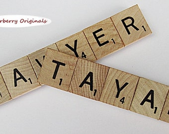 Personalized Scrabble Refrigerator Magnet