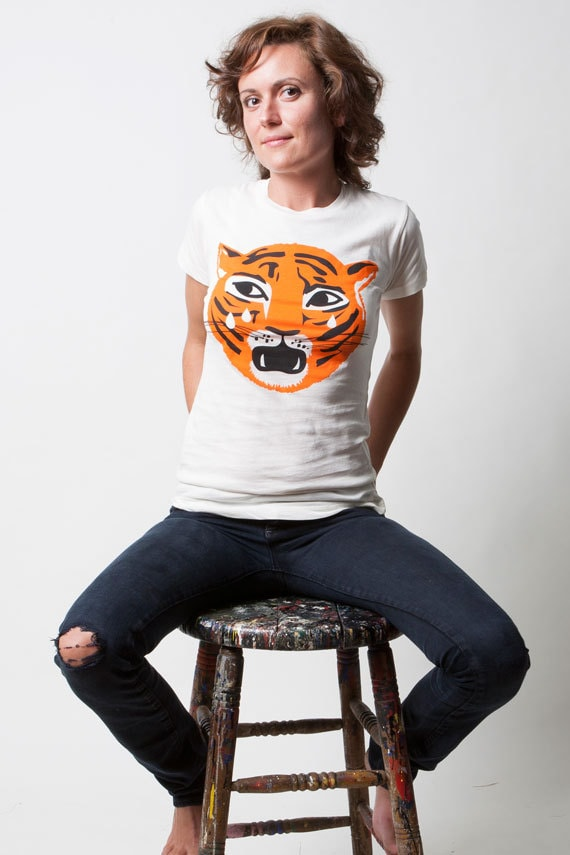 Ladies Tiger Tee