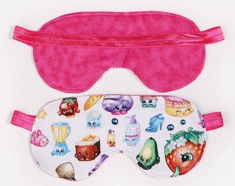 Shopkins Sleeping Eye Mask sleep over party pajama party favor