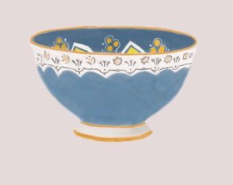 Decorative Bowl Art