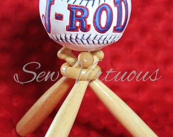 Customized baseball...made to order (stand not included)