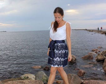 Cute fаestive for every day skirt laceThe top skirt, lace skirt, Верхняя юбка, кружевная юбка, Skirt, юбка.