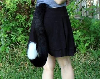 Tuxedo Cat Tail