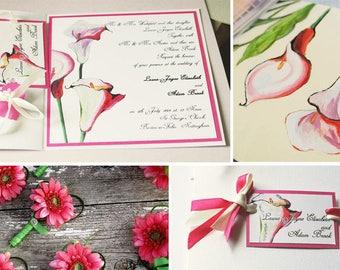 Calla-Lily-personalised-Hand painted Unique