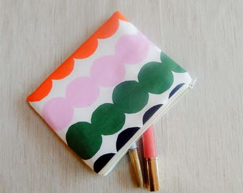 Make Up Bag/ Marimekko Pencil Case/ Marimeko Gift/ Gift for Her/ Mothers Day Gift/ Gift for Mom/ Gift for Wife/ Pouch/ Coworker Gift