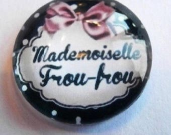 mademoiselle frou-frou 25mm cabochon