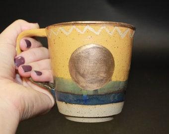 Ado Gold Lustre Mug 2