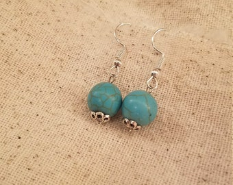 Turquoise Color Earrings