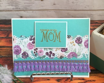 Mother's Day Card, Handmade Mother's Day Card, Handmade Card