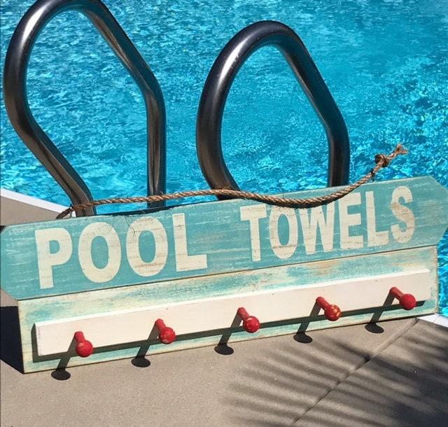 Beautiful Swimming Pool Decor, Backyard Decor, Outdoor Signs, Pool Towel Rack, Pool  Signs, Swimming, Backyard Sign, Pool, Pool Decor, Yard Signs