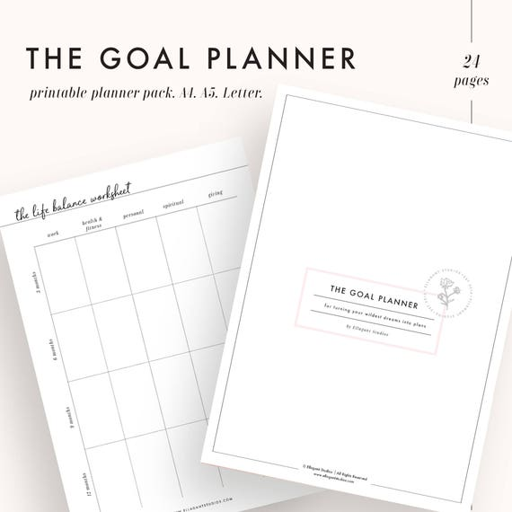 photograph about Printable Goal Tracker known as Objective planner, intent tracker, purpose natural environment, reason worksheet, function printable, planner printable, intent developing, Clean several years resolutions,