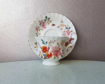 Royal Albert Bone China England Cup and saucer, cup and saucer