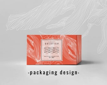 Custom product packaging - Custom packaging design - Product packaging - Graphic design - Custom packaging design - Business branding