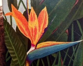 Birds of paradise Original Painting