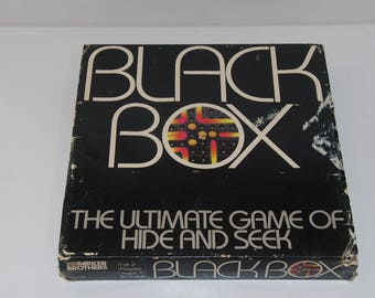 Black Box the Ultimate Game of Hide and Seek
