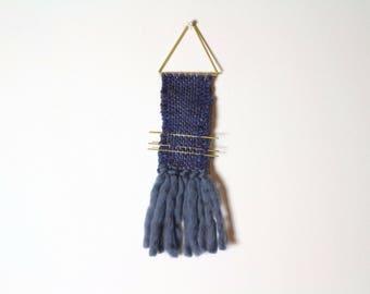 Jewel of wall  night blue and brass