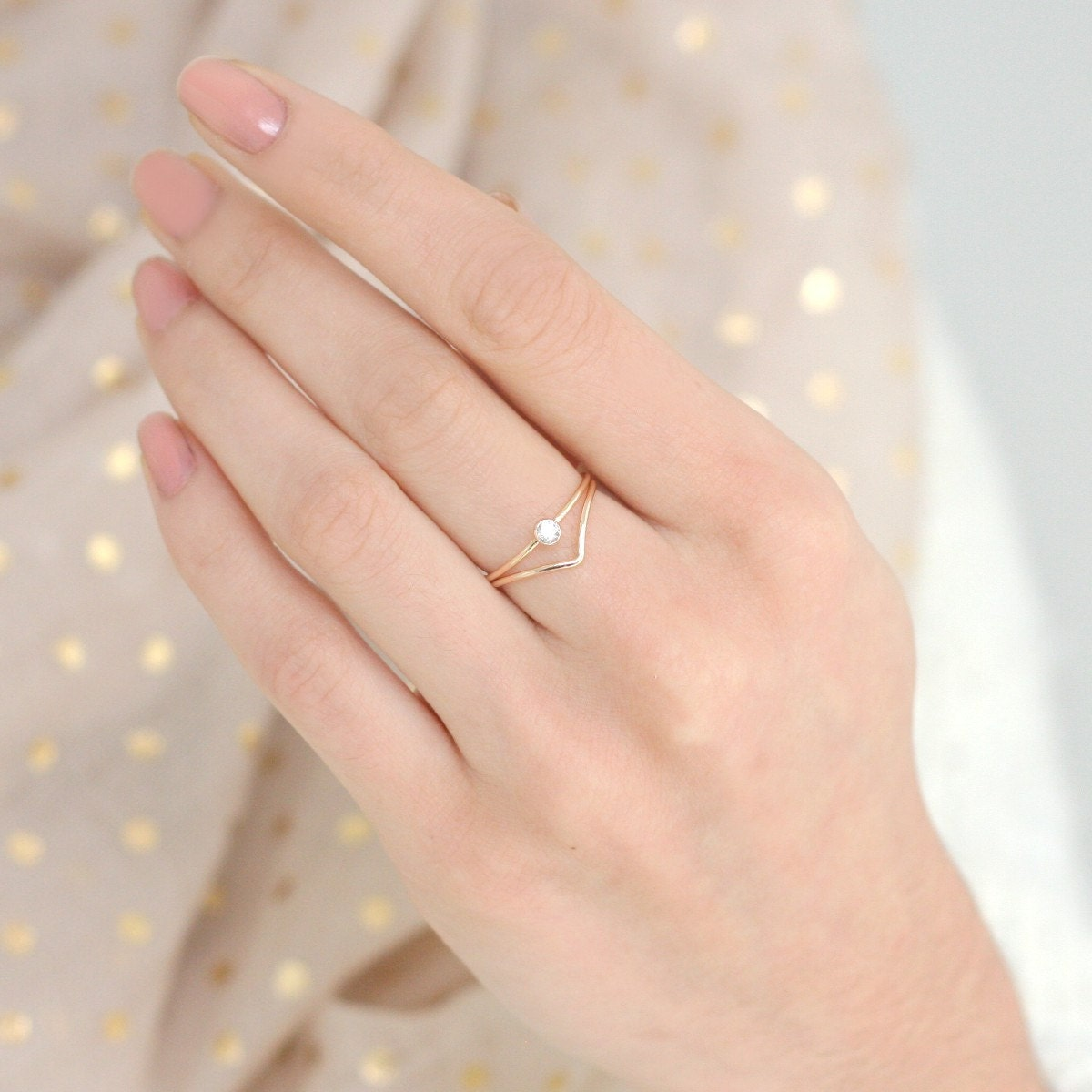 gold collections products white jewellery ring arlette rose rectangle rings engagement geometric serendipity