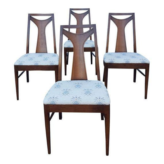 Vintage Mid Century Kent Coffey Perspecta Dining Room Chairs