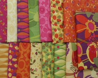 75% OFF CLEARANCE SALE Seedhead 15 Half-Yard Bundle from Clothworks Fabrics, 7.5 Yards Total
