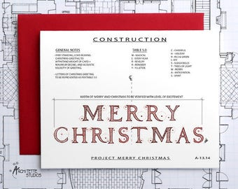 Project Merry Christmas Construction - Instant Download Printable Art - Construction Series