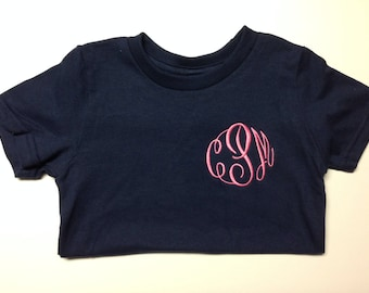 Toddlers Monogrammed T-Shirt