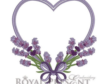 Machine Embroidery Design - Fragrant lavender #6