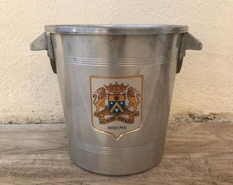 Vintage French Champagne French Ice Bucket Cooler Ruinart 1305186