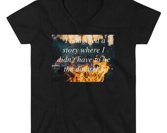 Westworld damsel Casual V-Neck Shirt