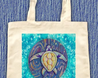 sea turtle tote