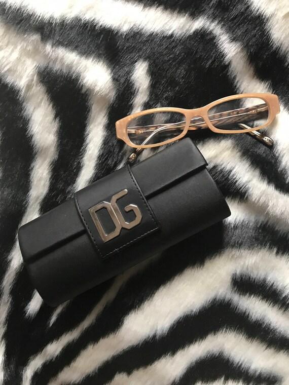 Amazing Vintage Dolce & Gabana Eyeglasses Reading Glasses Frames high fashion designer prescription eyeWear
