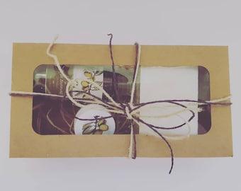 Organic  Olive Oil Soap Set