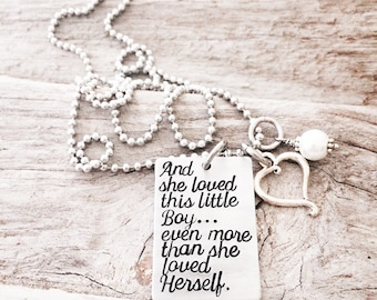 Angel Baby Necklace - Pregnancy Loss Necklace - Baby Loss Jewelry - Miscarriage Necklace - Angel Necklace - Angel Mom - Son Loss