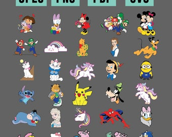 30 Cartoon Files
