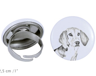 Ring with a dog- Harrier