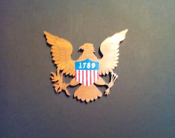 American Eagle with 1789 badge on front