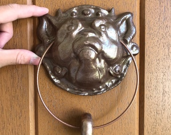 Labyrinth Door Knocker