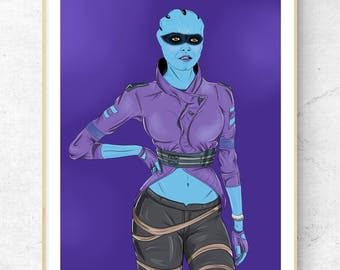 Peebee Mass Effect Andromeda Limited Signed Art Print
